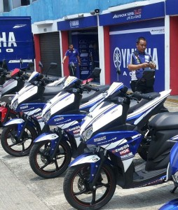 Yamaha Aerox 125LC official paddock bike Yamaha Racing Team Indonesia(3) -