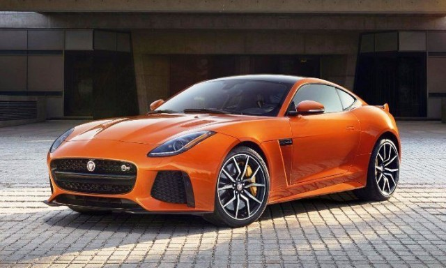 New Jaguar F-Type SVR