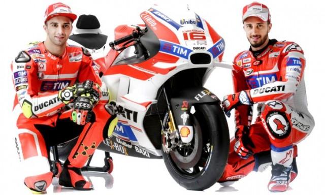 Andrea Iannone dan Andrea Dovizioso © Ducati