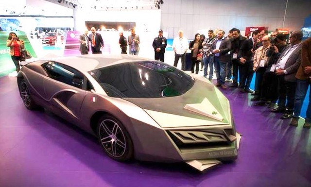 Prototip Mobil Sport Dari Qatar