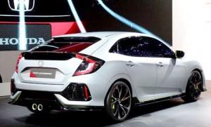 Prototipe All New Honda Civic Hatchback 3