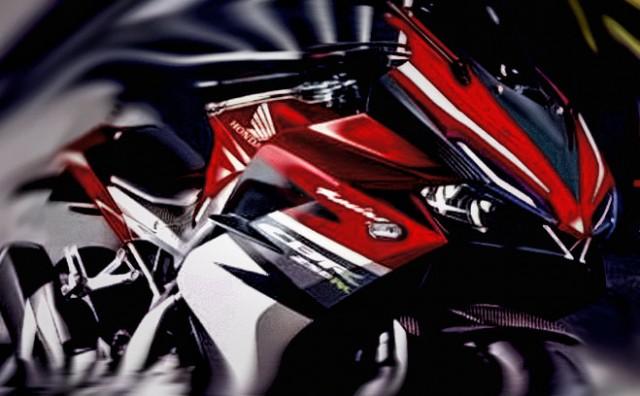 Rendering Honda CBR250RR