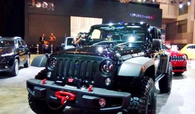 Jeep Wrangler Trailstorm Special Edition di IIMS 2016