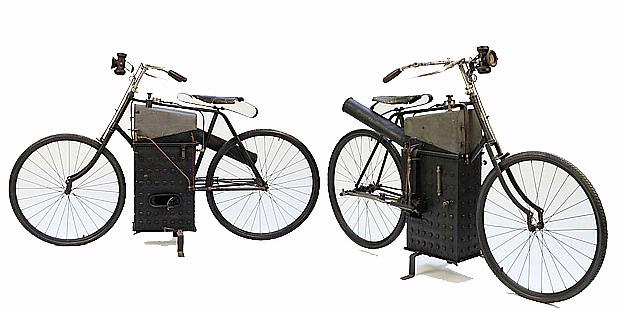 Roper Steam Motorcycle (Amerika Serikat) 1894