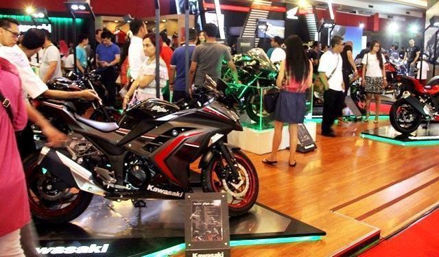 Kawasaki Ninja 250 di IIMS 2016