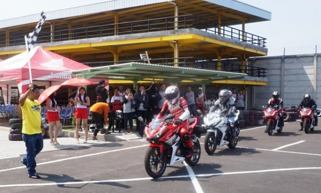 All New Honda CBR 150R Track Day