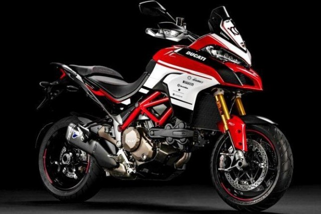 Multistrada 1200 Pikes Peak 100th Anniversary Replica Kit