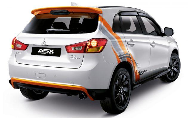 Mitsubishi ASX Orange Edition