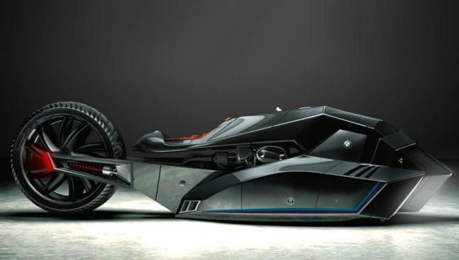 BMW Titan Batman konsep -