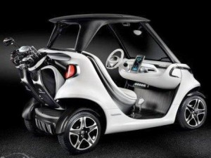 Mercedes-Benz Style Edition Garia Golf Car -