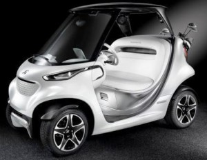 Mercedes-Benz Style Edition Garia Golf Car 2 -
