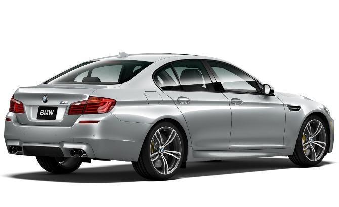 BMW-M5-Pure-Metal-Silver-rear -