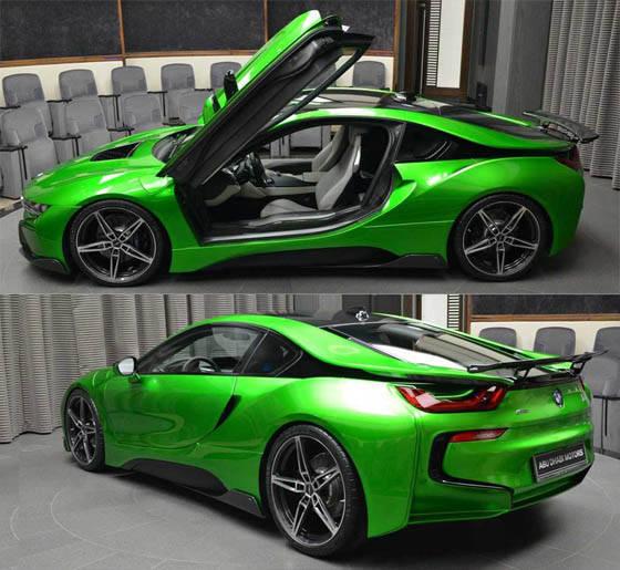 bmw-i8-green