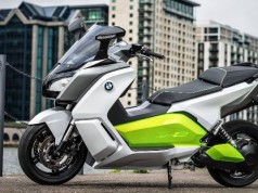New BMW C Evolution E-Scooter