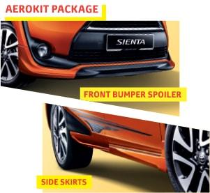 Toyota-Sienta-aero-kit-parts